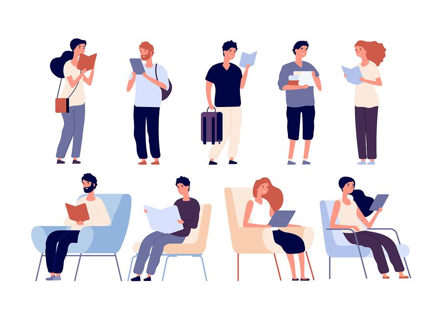 Un metaanálisis de 33 estudios busca encontrar respuesta al largo debate sobre si es mejor leer en papel o en una pantalla. - Imagen: Bigstock