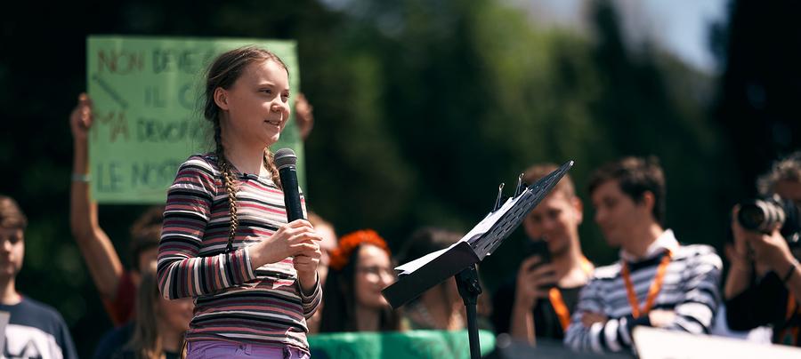 Greta Thunberg / Foto: Bigstock.