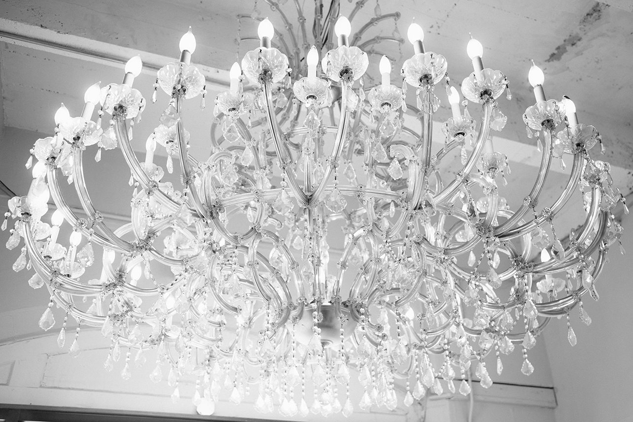 Grand Chandelier at El Torreon KC