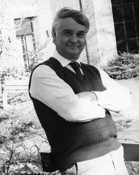 "<div class=""ch"">Donald D. ""Don"" James; faculty 1965–2000; French, squash </div>"