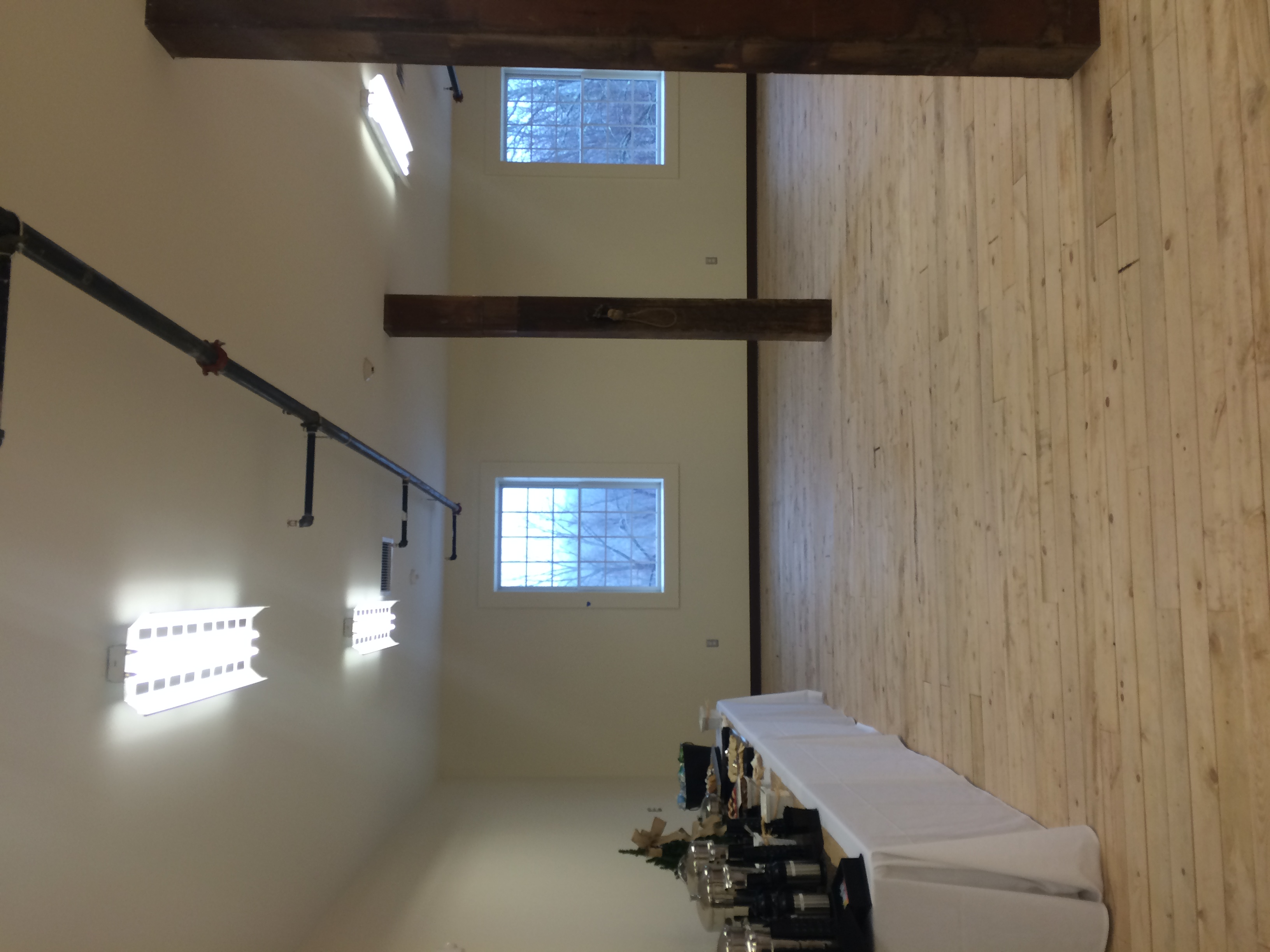 First Floor of the Paine Barn