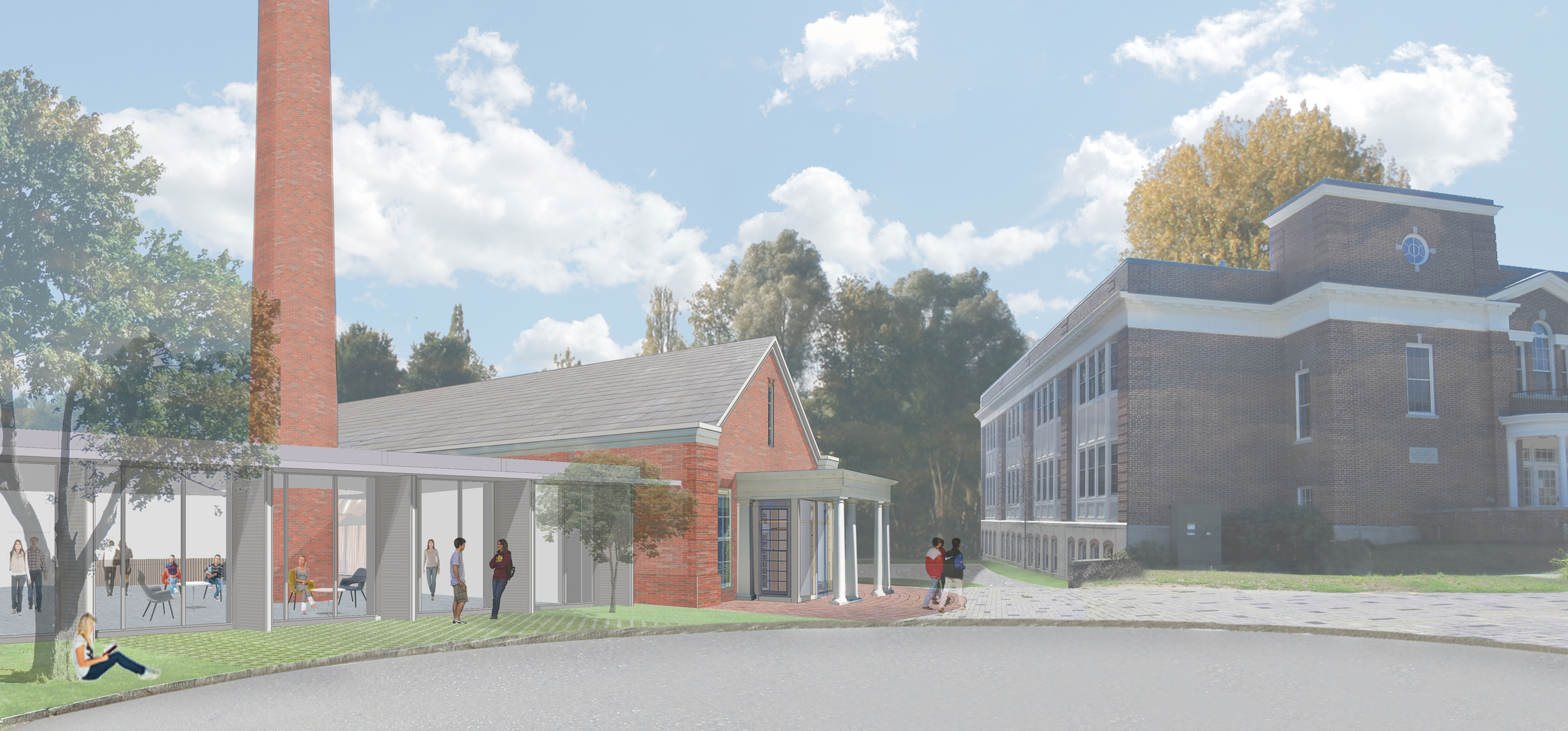 The soon to be Music and Campus Center will be a welcome addition to Middlesex, completing the north side of campus.