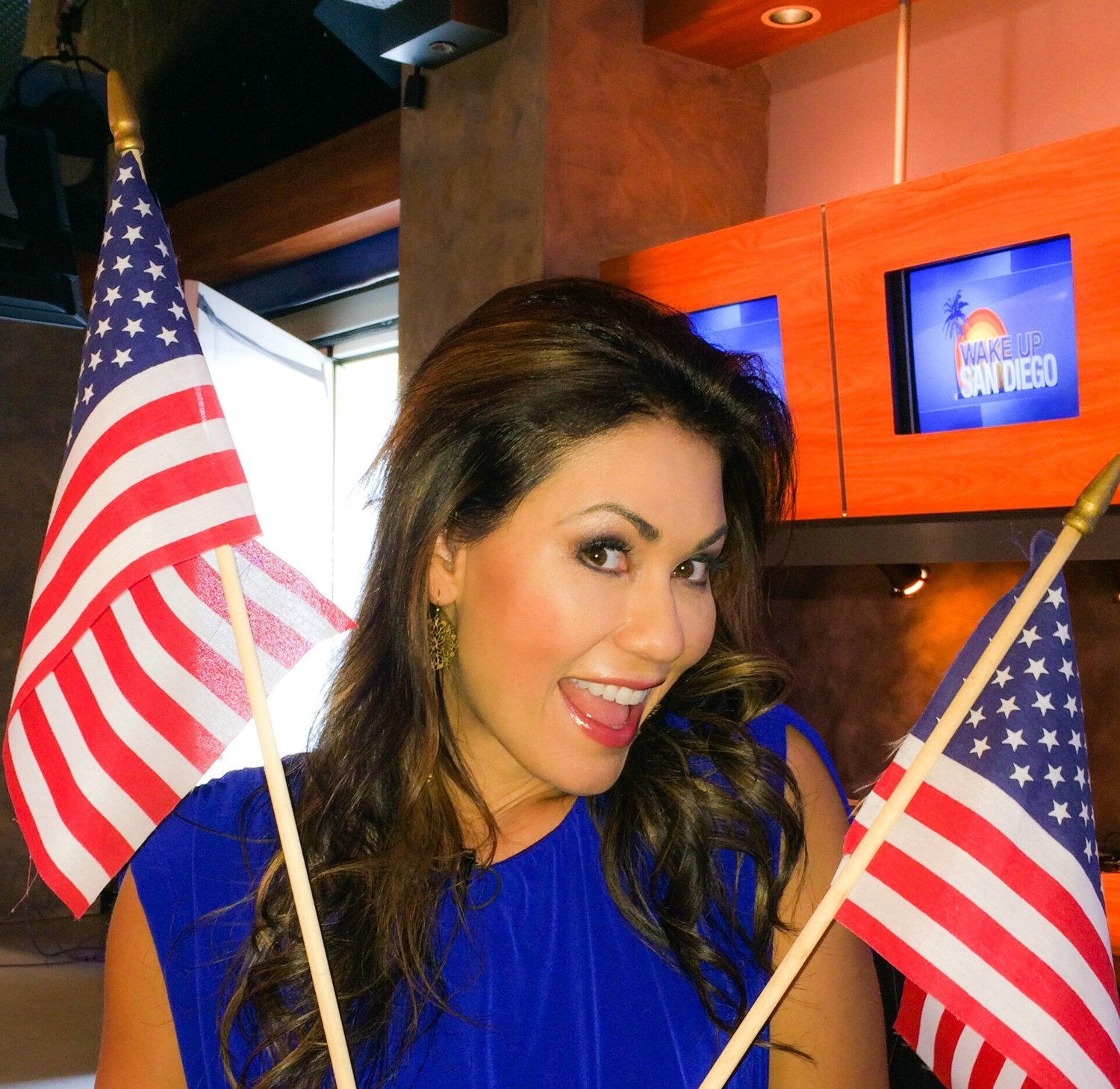 Day 2 of wearing patriotic colors! Go USA (World Cup)!