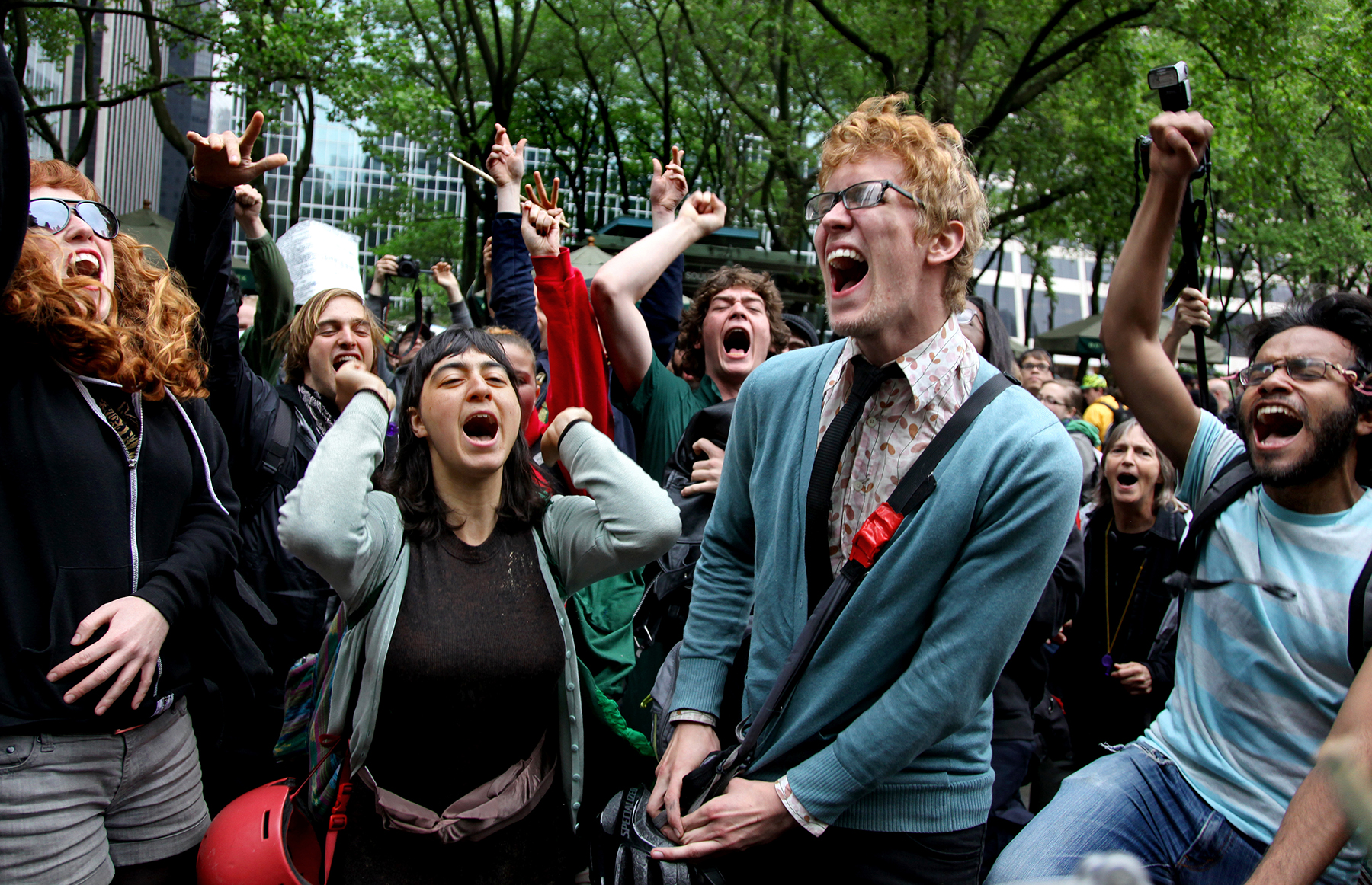 Occupy Wall Street/May Day rally, 2012