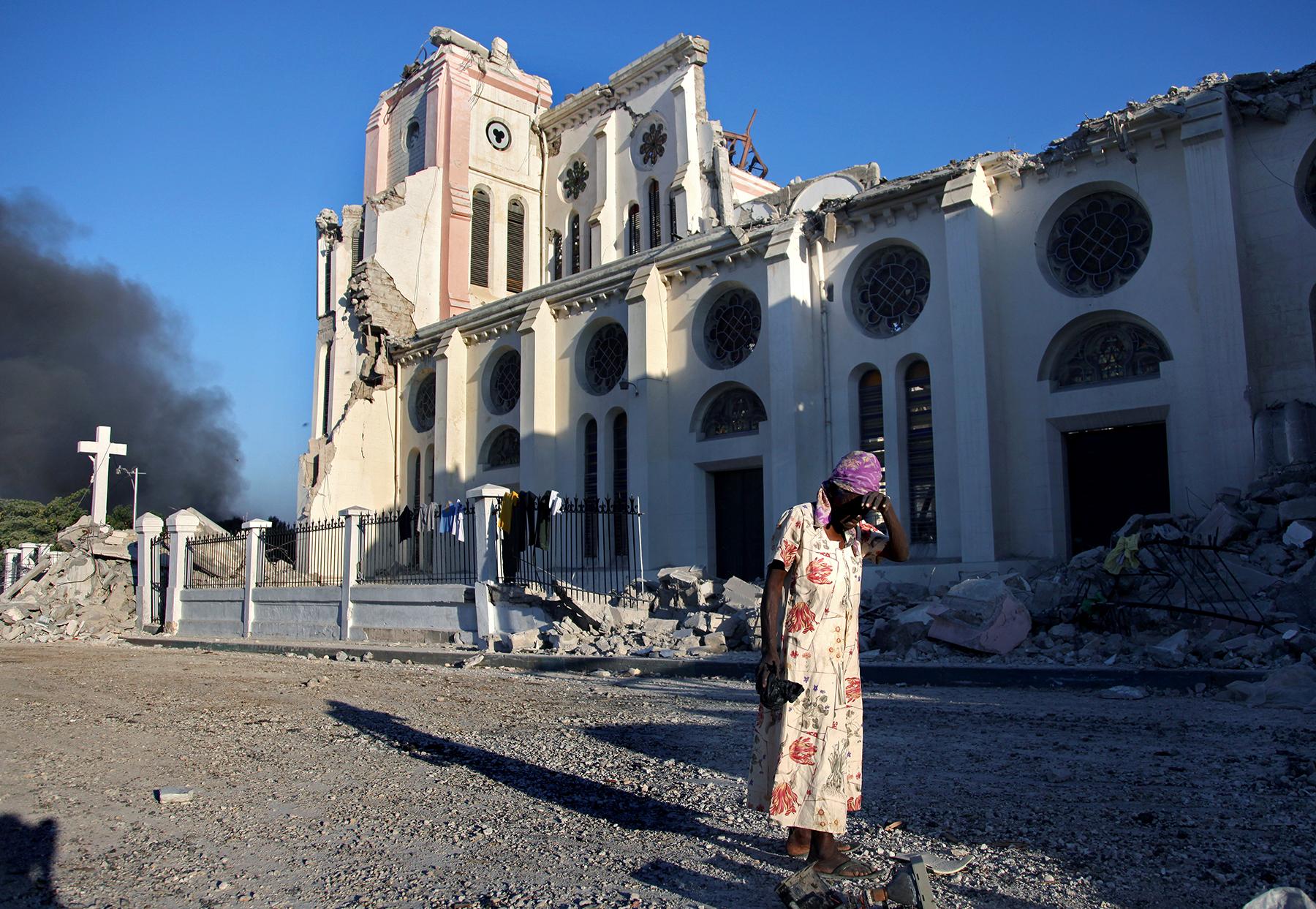 2010 earthquake, Port-au-Prince, Haiti