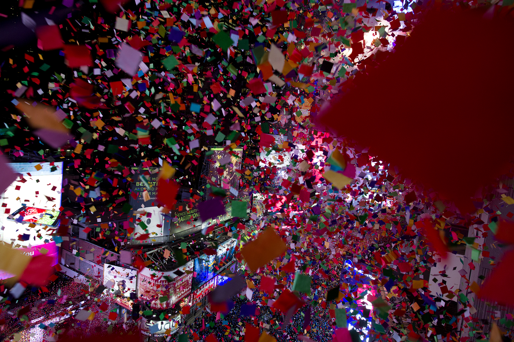 New Year celebration, Times Square, 2014