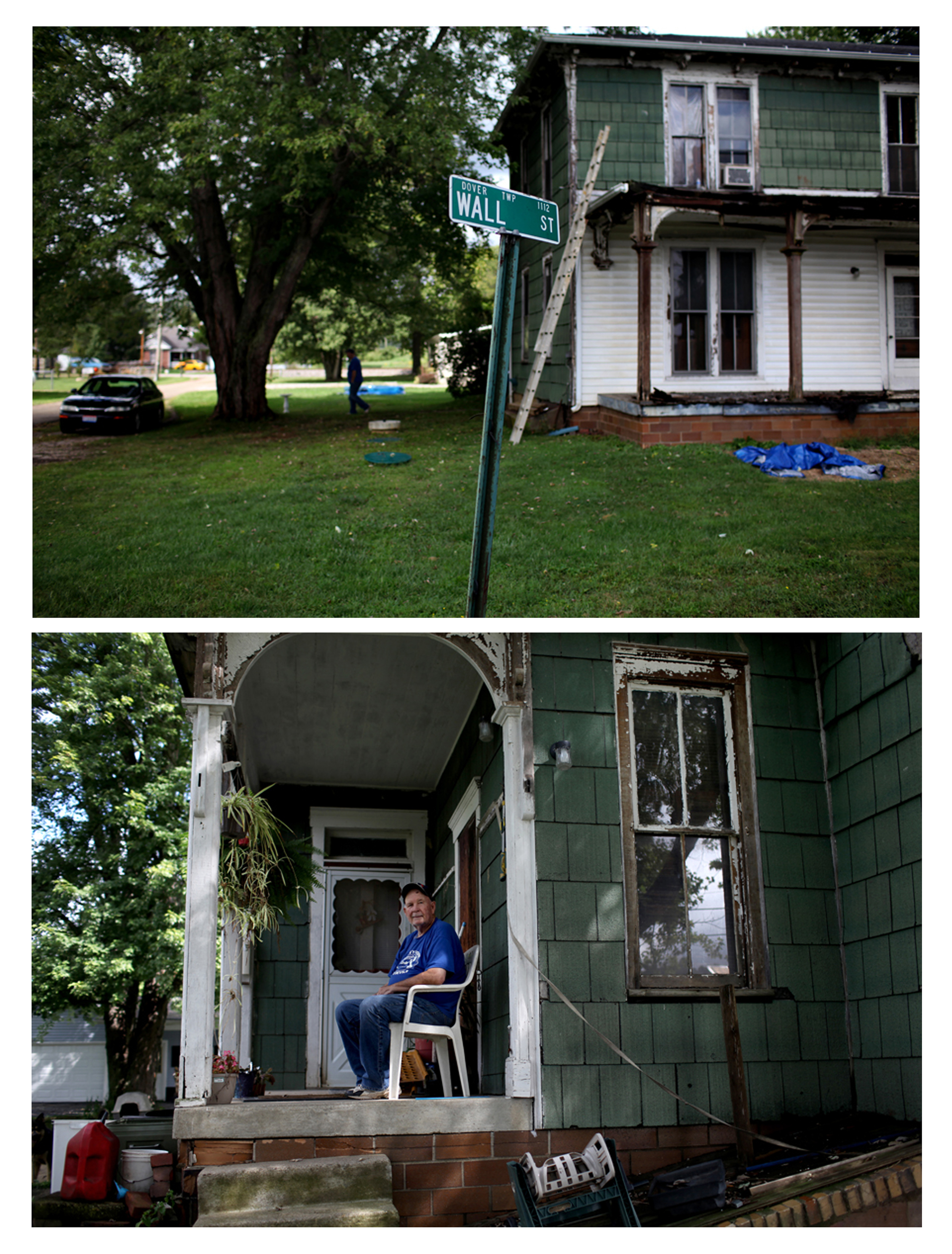 An ongoing project about American life on Wall Streets in Ohio as a financial crisis ebbs, and elections near, 2012.