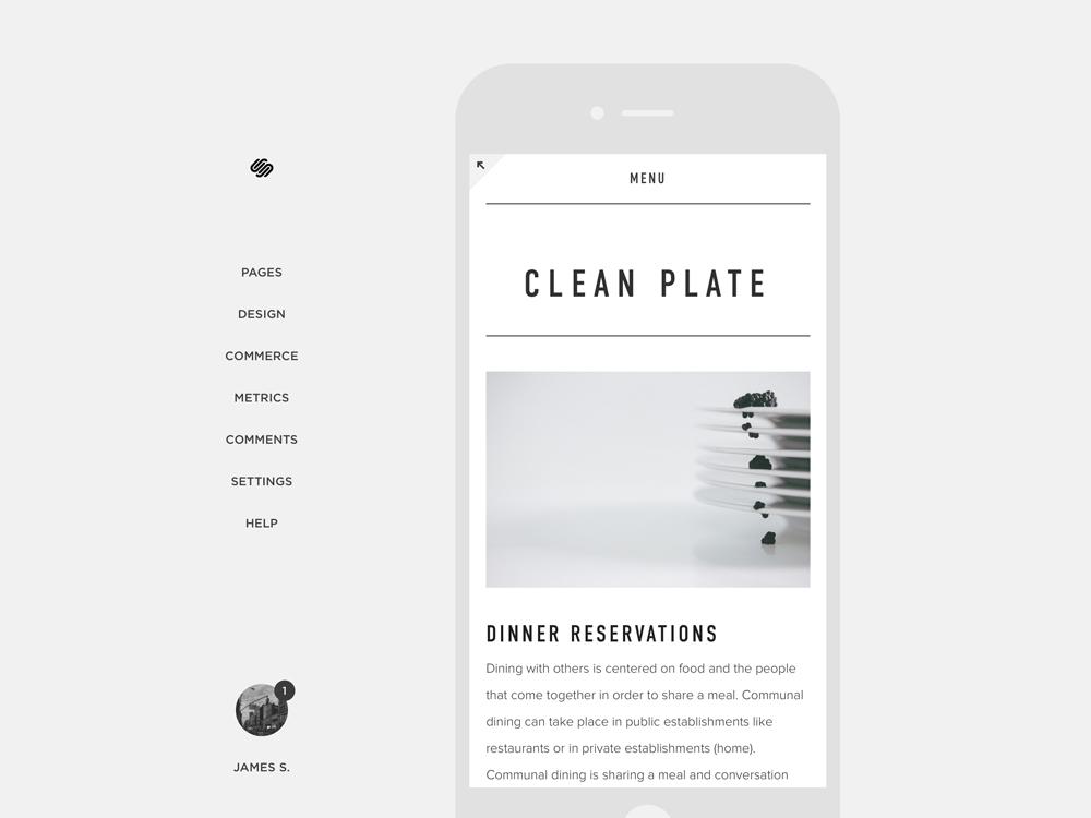 Visualisation du site en version mobile grâce à son développement responsive ready