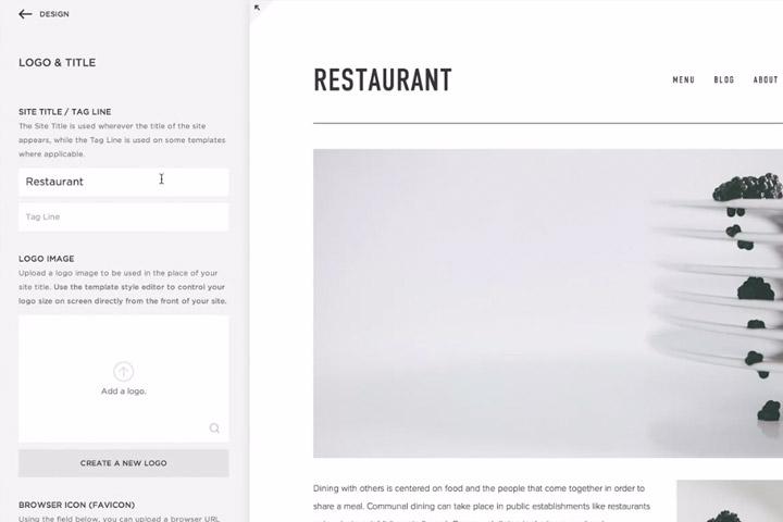 """Modification du contenu simple en """"frontend"""" comme si vous voyiez le site. Il suffit de cliquer su l'élément que vous souhaitez changer pour l'éditer."""