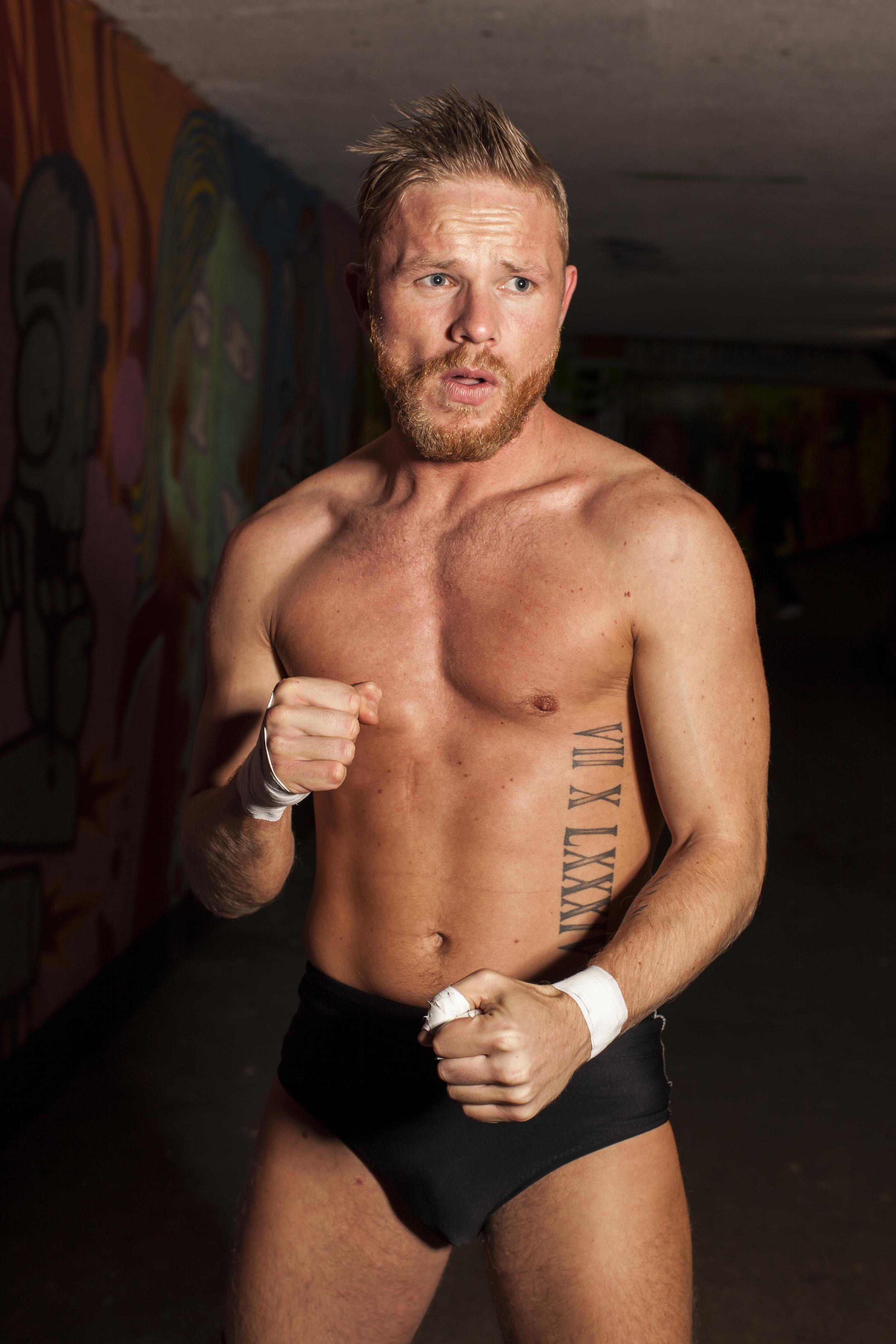 Adam Da'Silva Rossiter-Wrestler