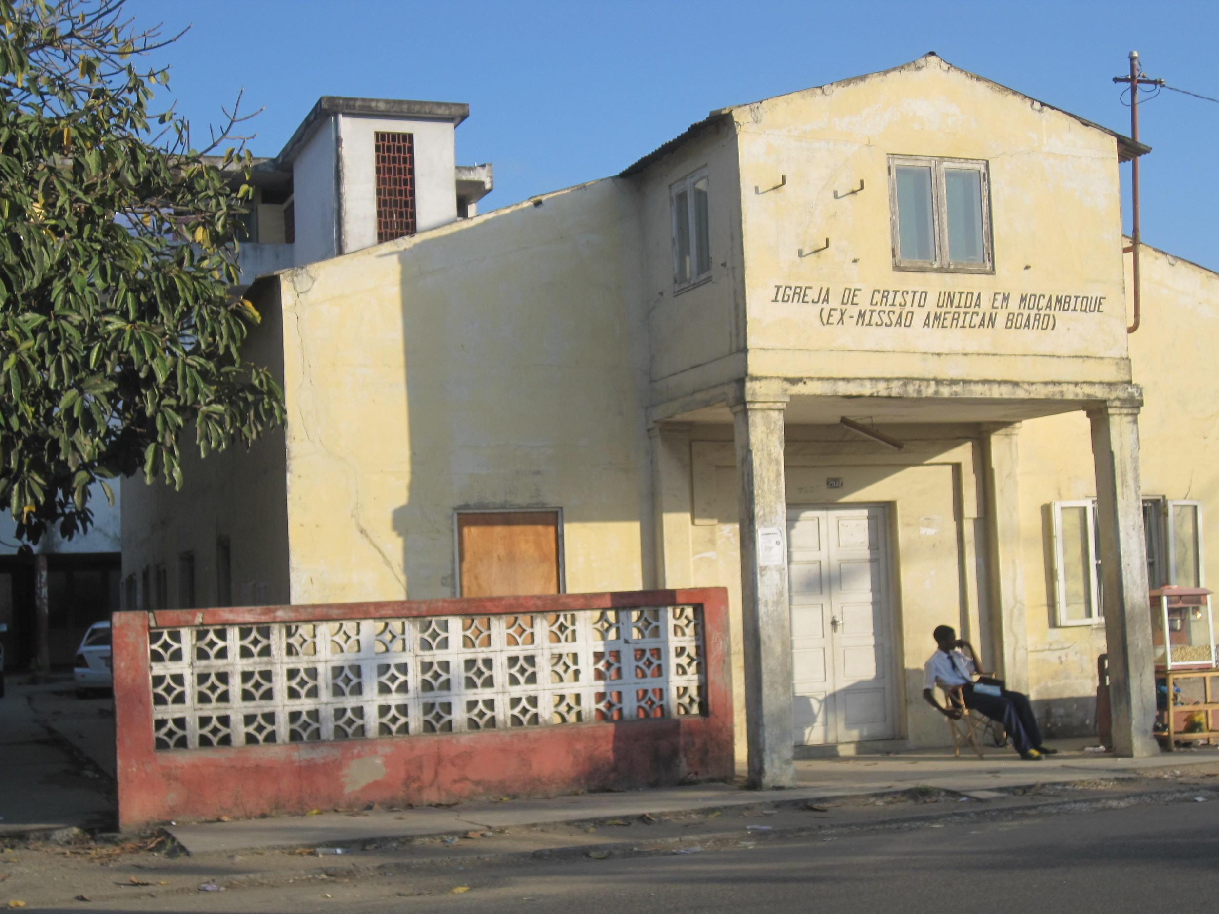 The 'evangelistic hall' in Beira, 1938