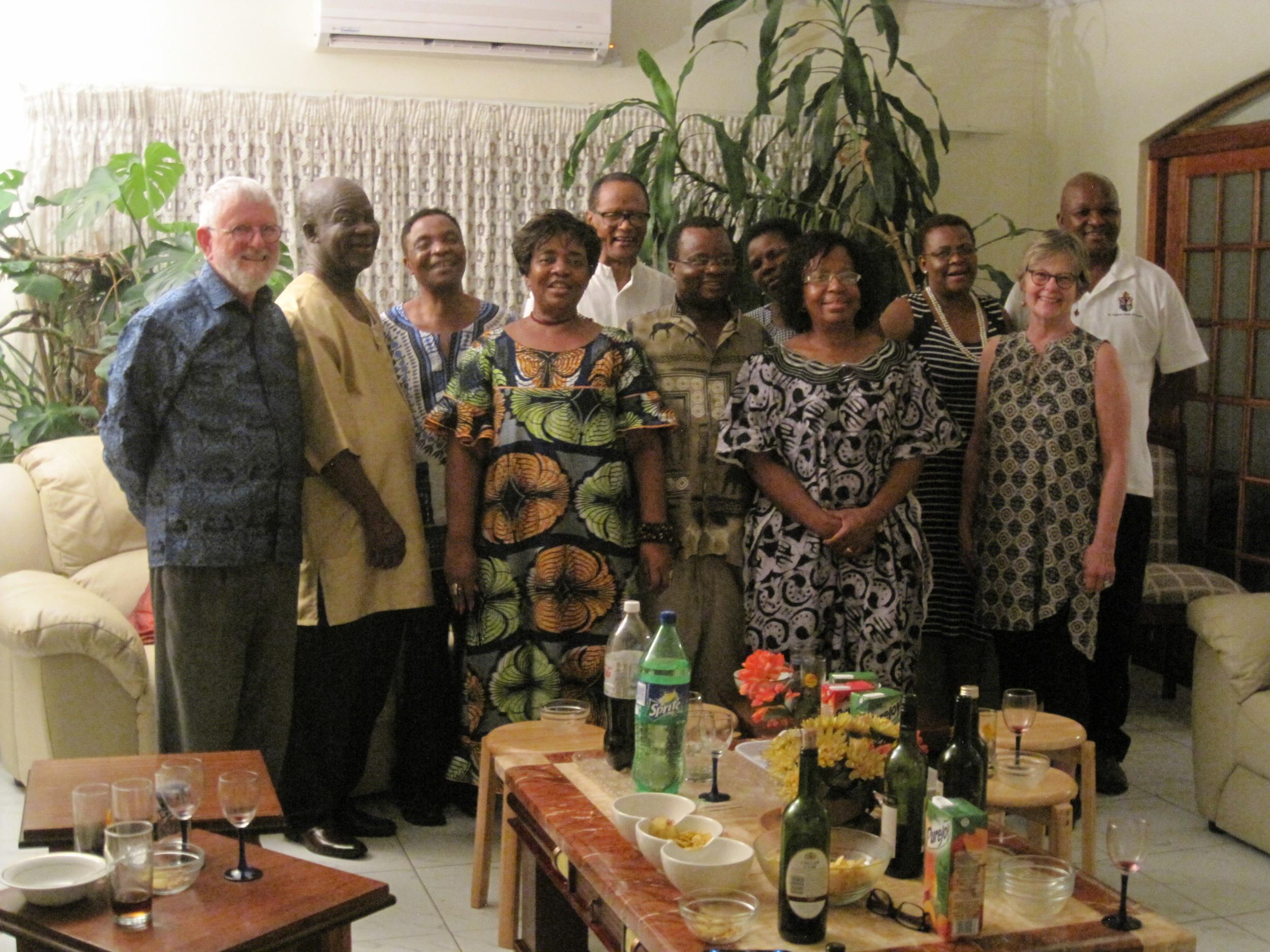 'Oneness in Christ' in Botswana: Batswana, Ghanaians, Gambians, Malawians, Zambians, and Americans