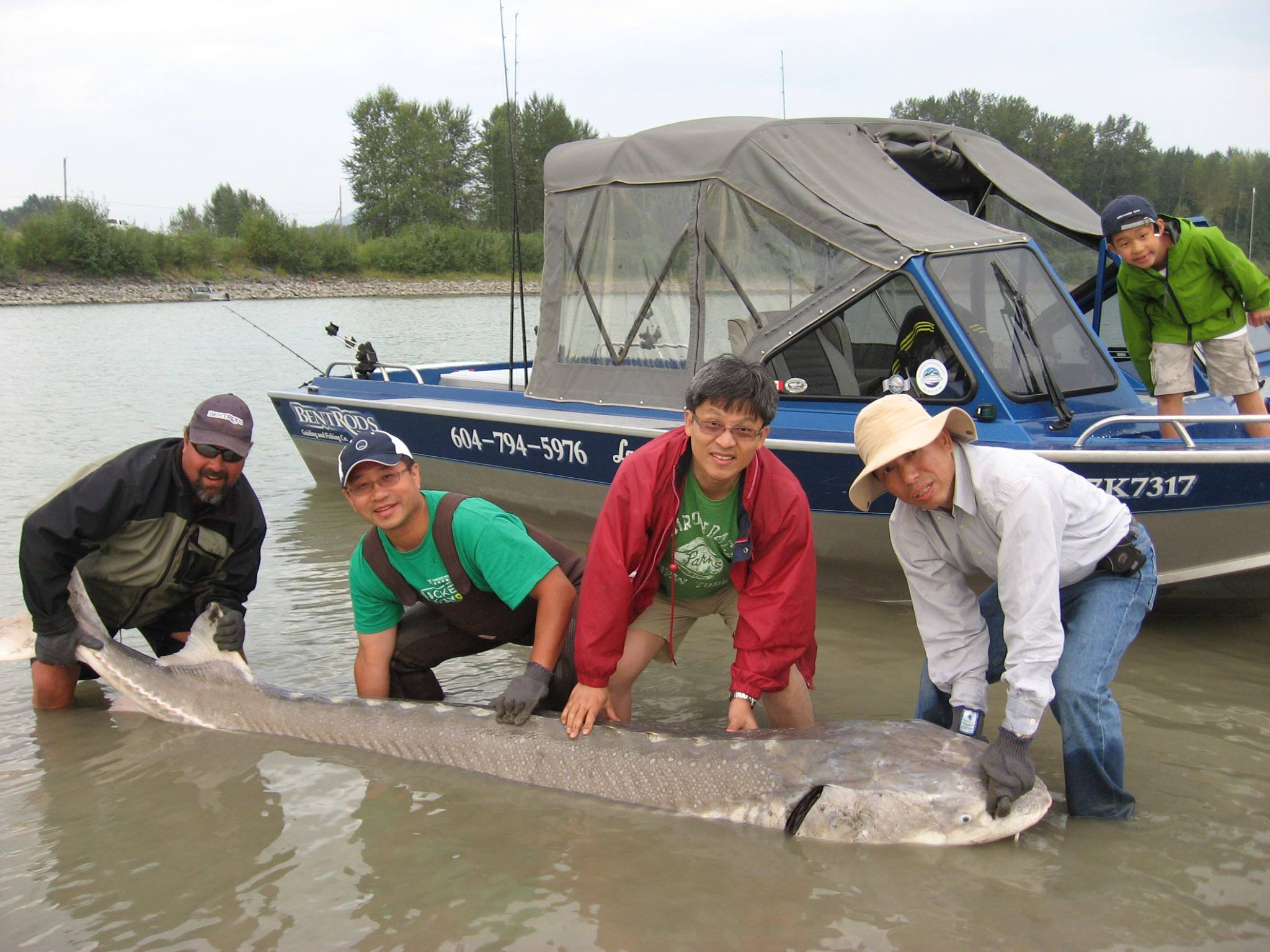 Fishing for the Fraser River Great White Sturgeon is unlike anything else.