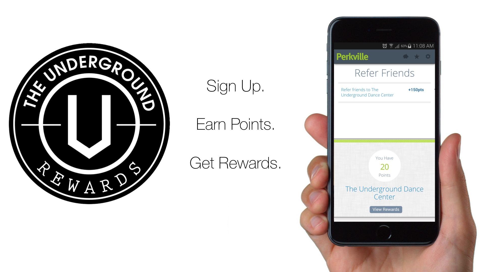 The Underground Rewards
