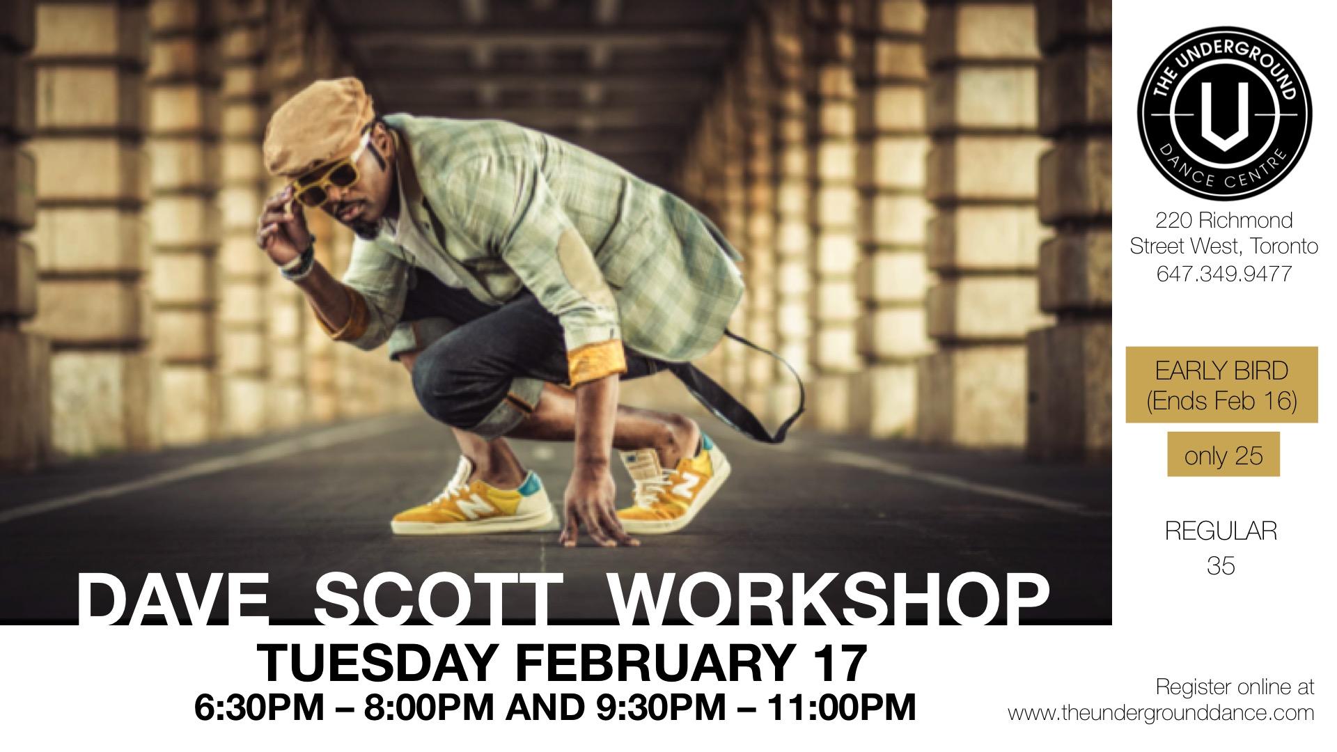 Dave Scott Workshop