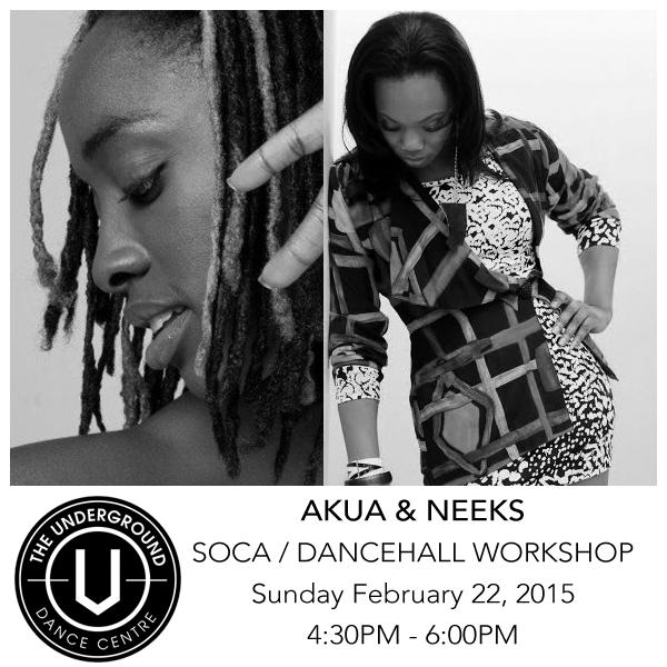 Akua & Neeks Soca / Dancehall Workshop