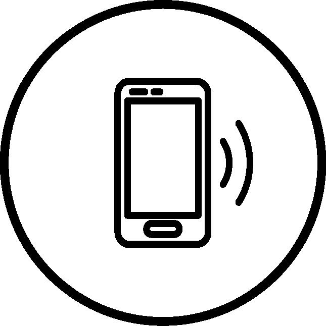 Phone in Circle