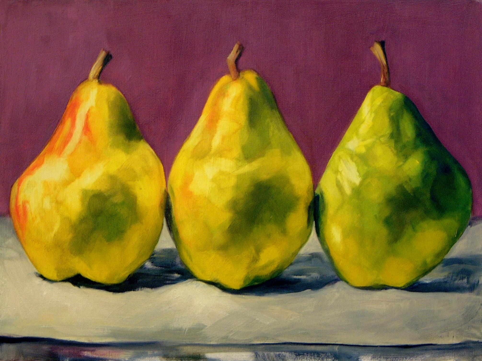 Purple Pears
