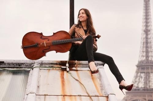 CAMILLE THOMAS, cello