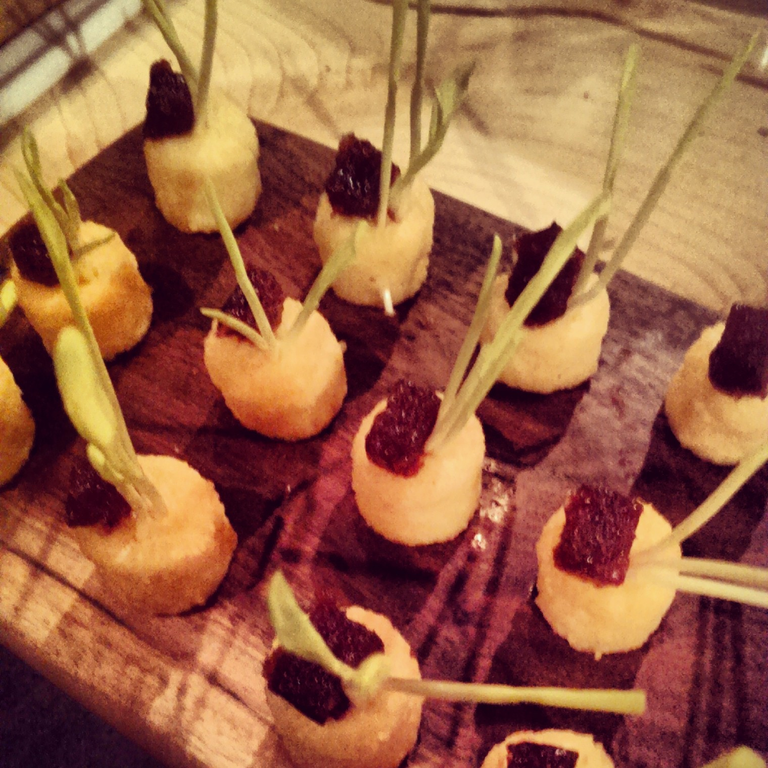Polenta / Cornshoot / Smoked Onion Gel