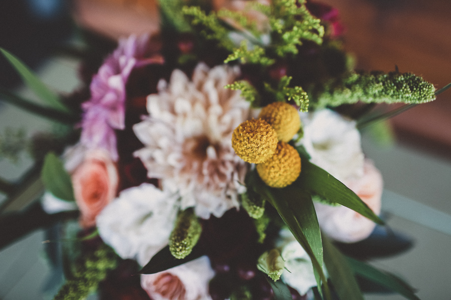 The Bride's bouquet - beautiful florals created by the lovely  Posh Petals