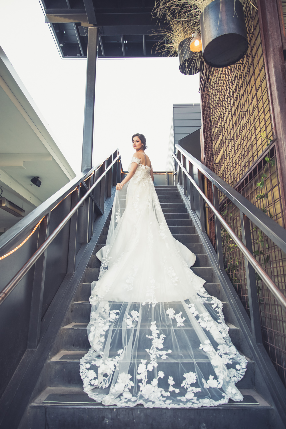 Oh wait. it just did - add a Bridal cape and you have us all heart eyes over here! Bridal Gown and Cape:  Gigi Bridal