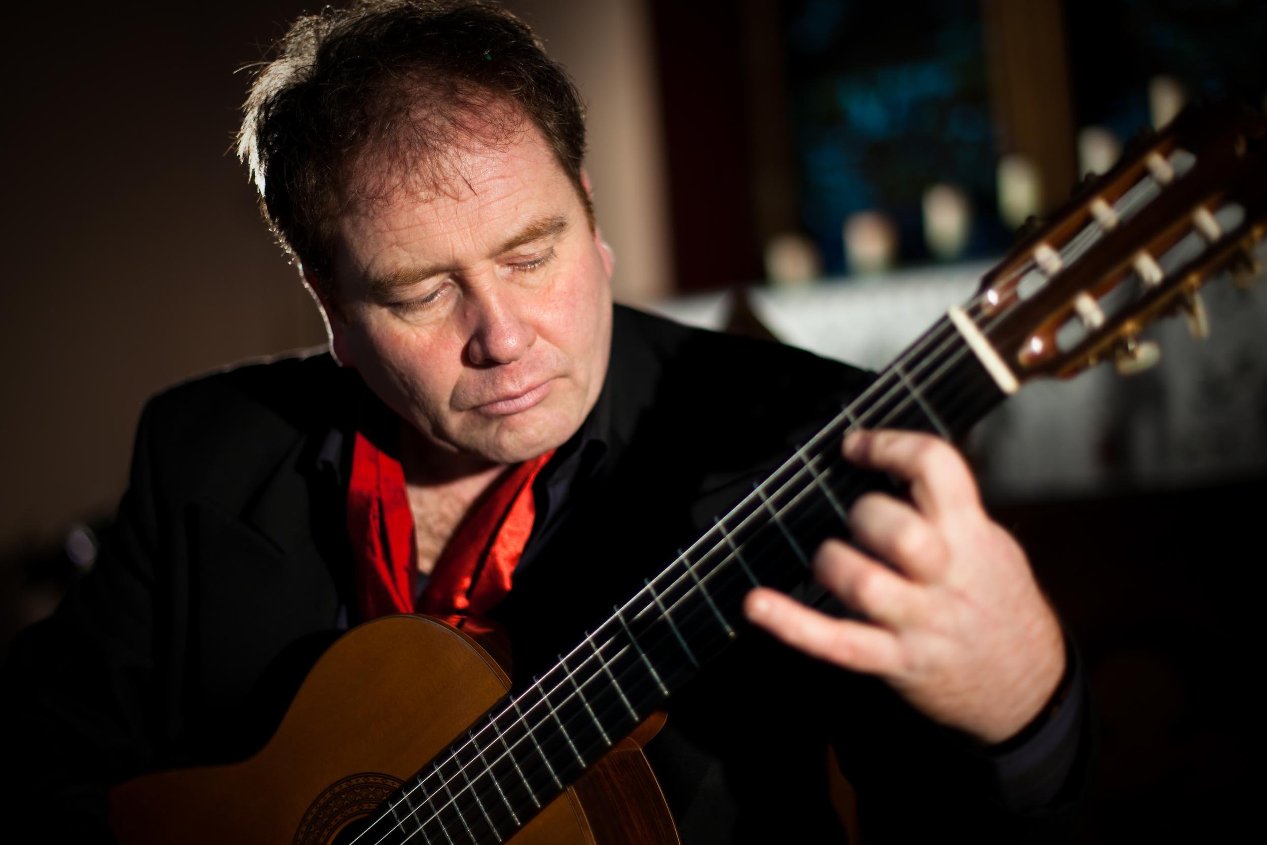 Pat Coldrick - Virtuoso classical guitarist
