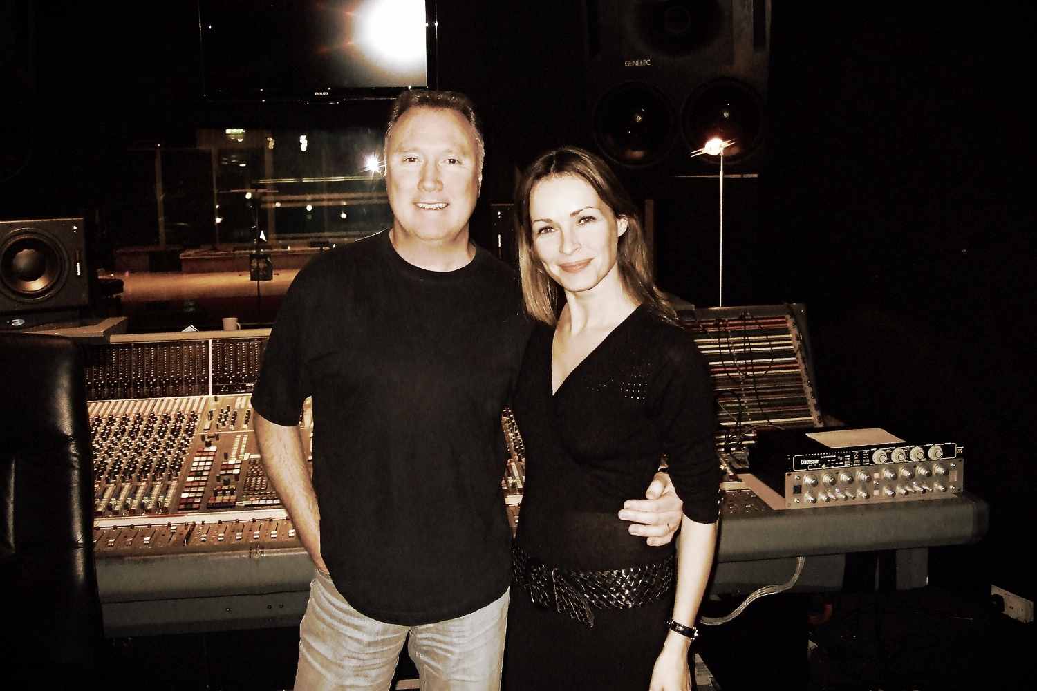Billy Farrell - Dublin Studio Hub Producer with Sharon Corr of the Corrs
