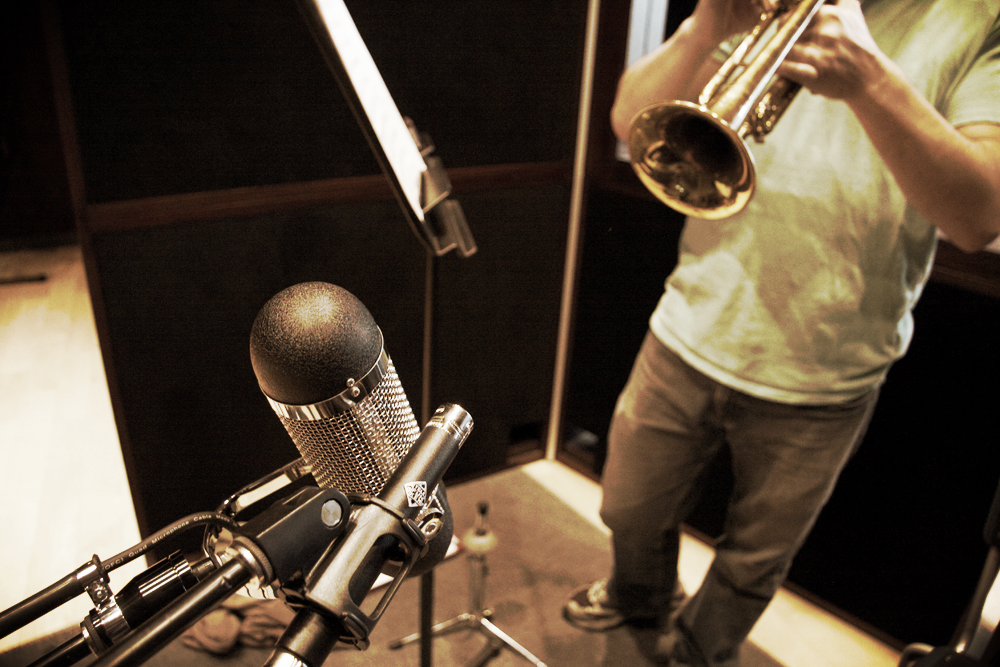 We are experts at recording brass sections
