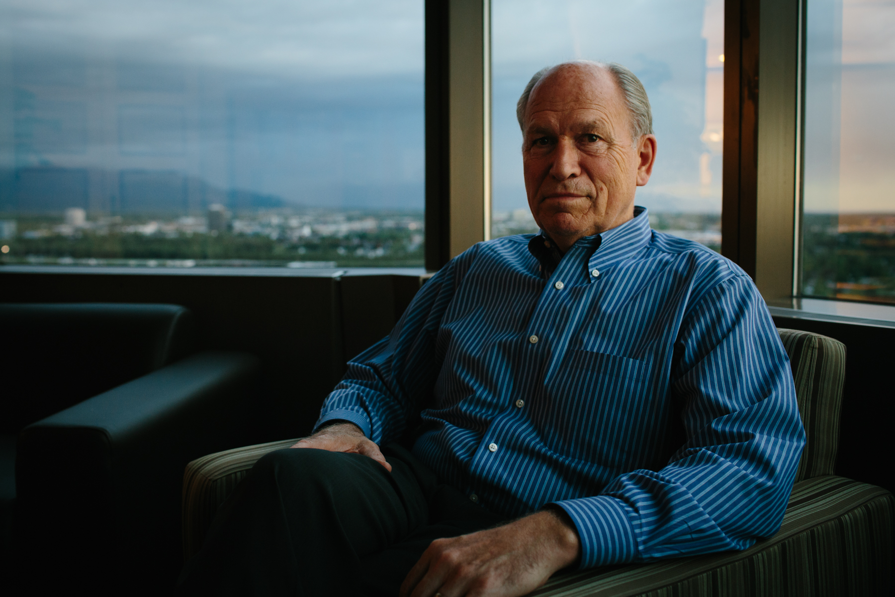 Alaska Governor Bill Walker for the New York Times