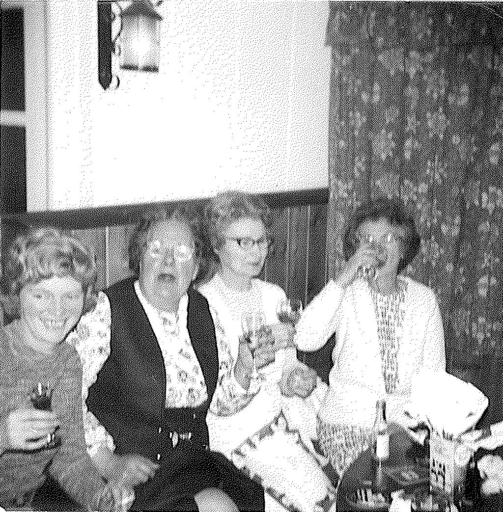 This picture was taken in 1973 at a party. My Nanna LOVED a knees up. She loved a tipple and a sing song and was an awful lot of fun. She is the lady on the far left; I love her rosy cheeks in this picture.