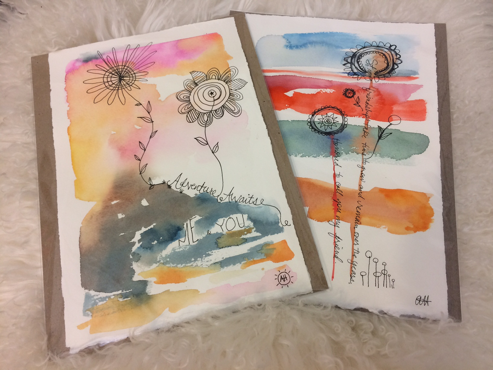 Andrea Henning Water Colors