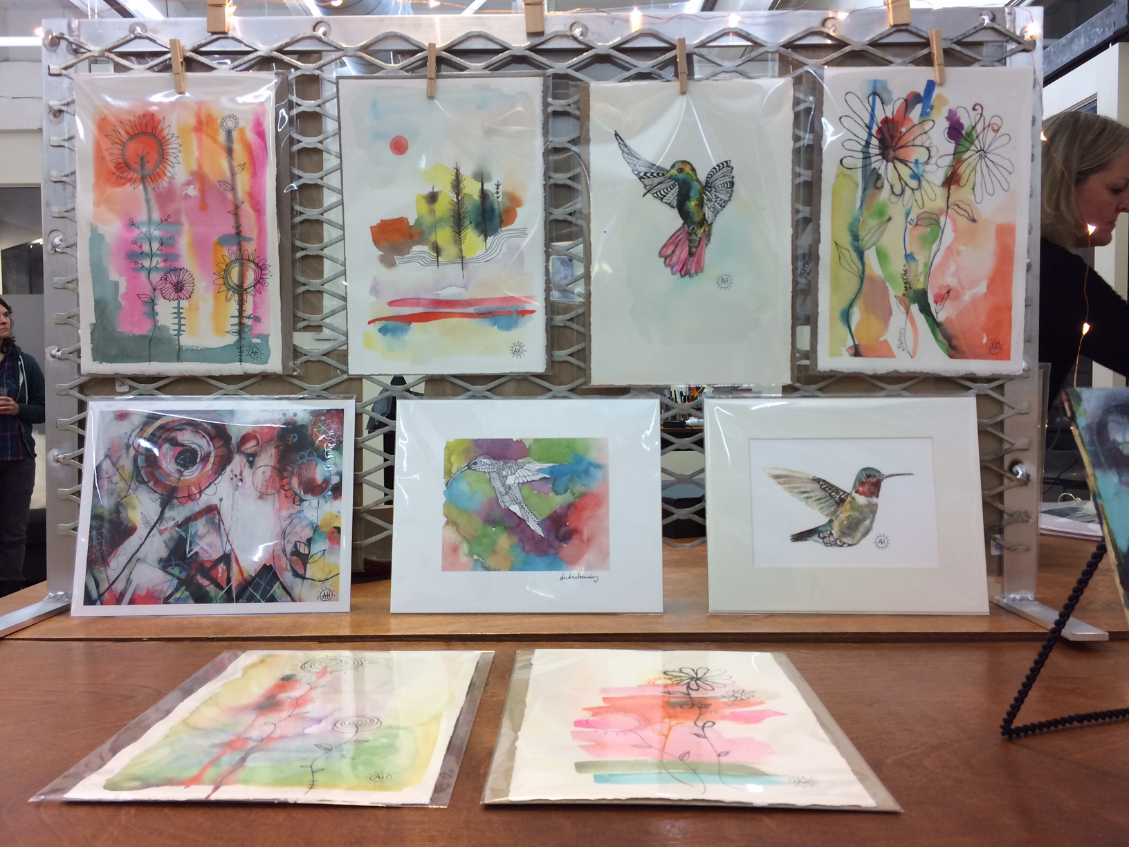 Andrea Henning Water Color Birds