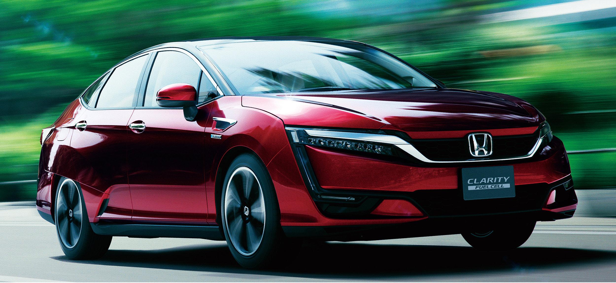 2016 Honda Clarity Fuel Cell Vehicle