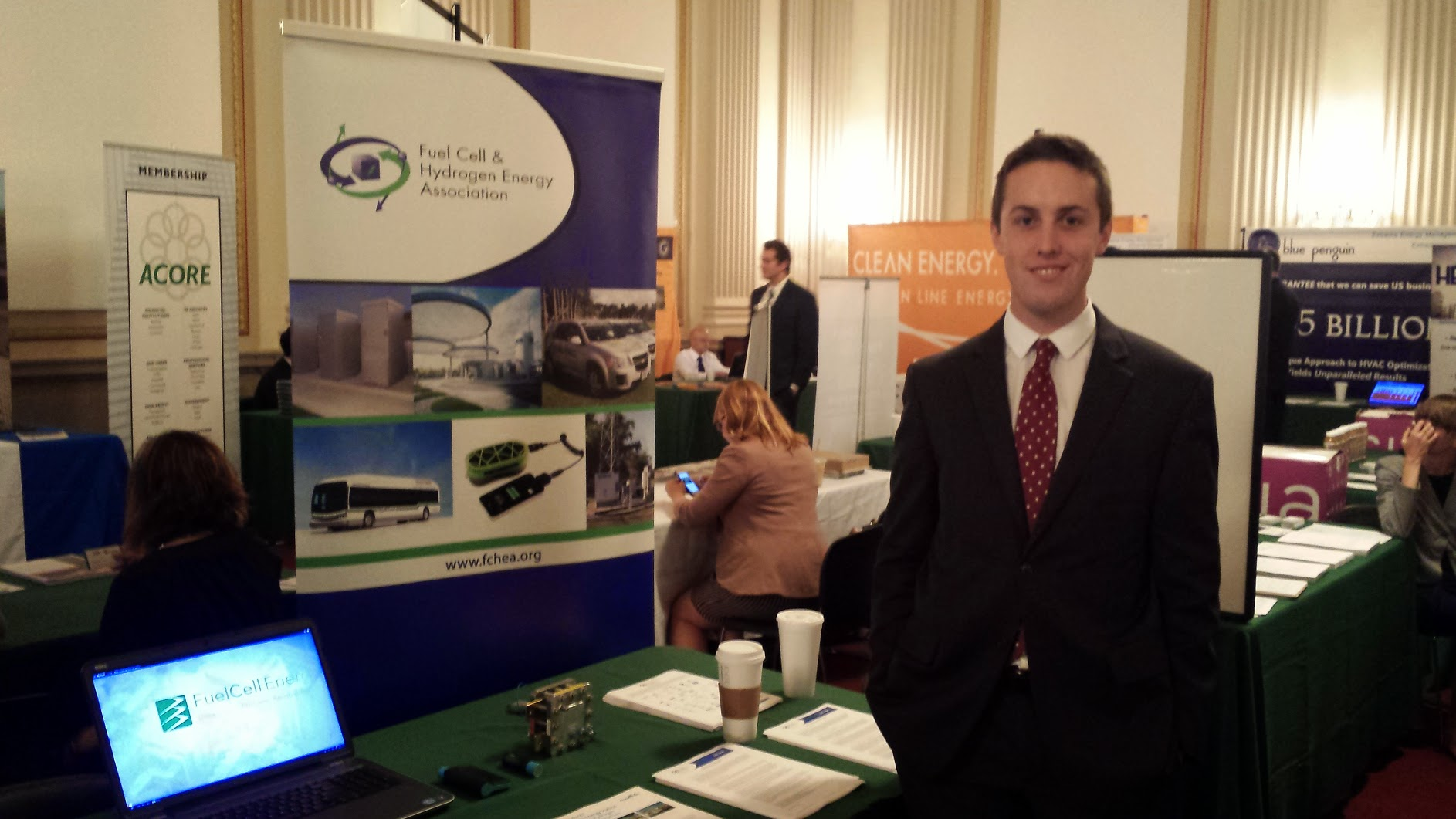 FCHEA's booth at the Congressional Renewable Energy and Energy Efficiency EXPO on Capitol Hill