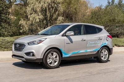 The Hyundai Tuscon Fuel Cell. Source: Hyundai