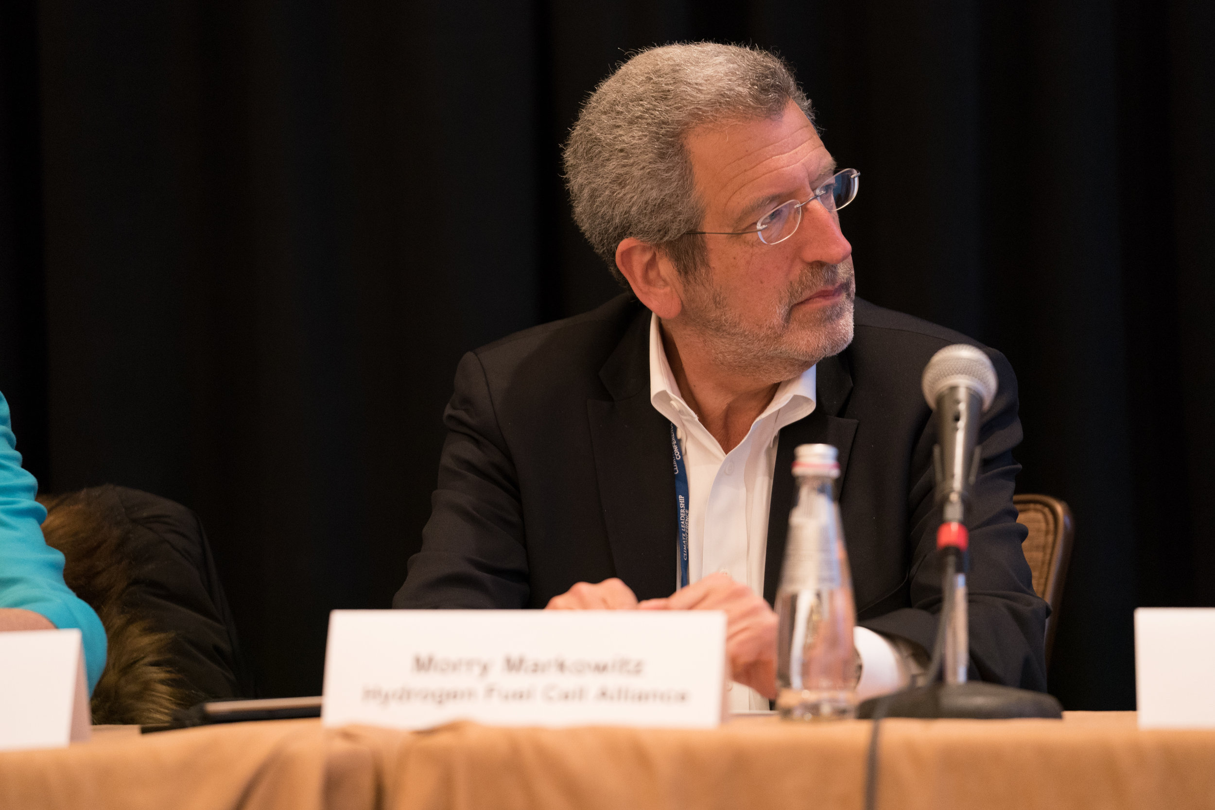 FCHEA President Morry Markowitz speaks at the 2018 Climate Leadership Conference. Source: Climate Leadership Conference