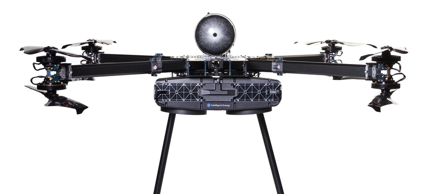 Unmanned Aerial Vehicle powered by Intelligent Energy fuel cells