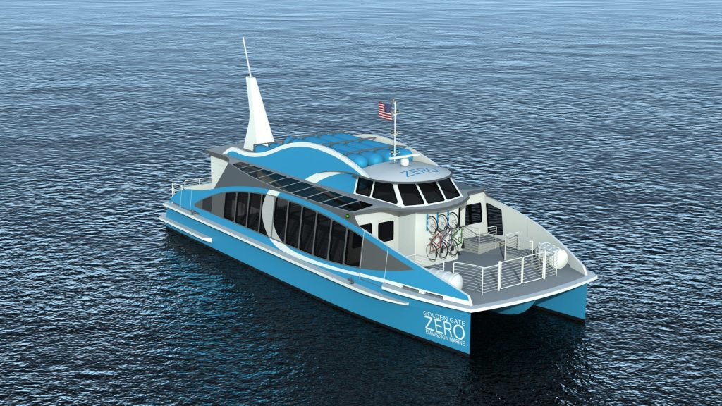 San Francisco area ferry powered by FCHEA member Hydrogenics' fuel cells