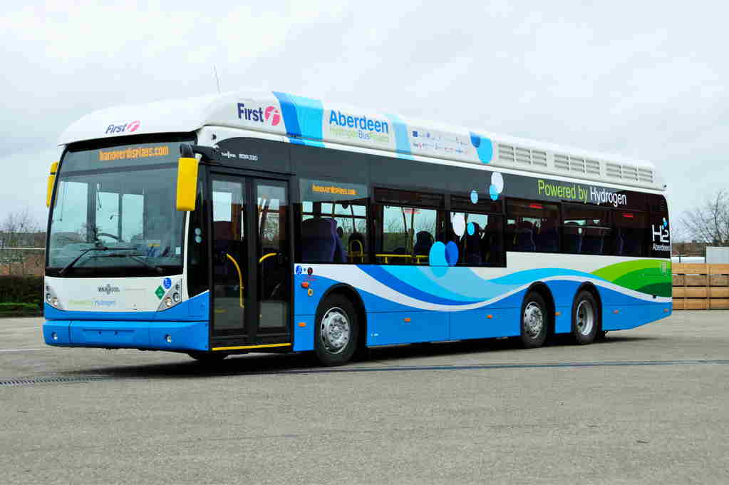 22 Fuel Cell Buses for Scotland thanks to JIVE 2. Source: Sustainable Bus