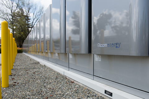 Bloom Energy Servers installed at Agilent Technologies. Source: Business Wire