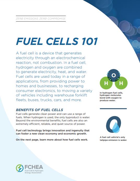 Fuel Cell 101 Factsheet