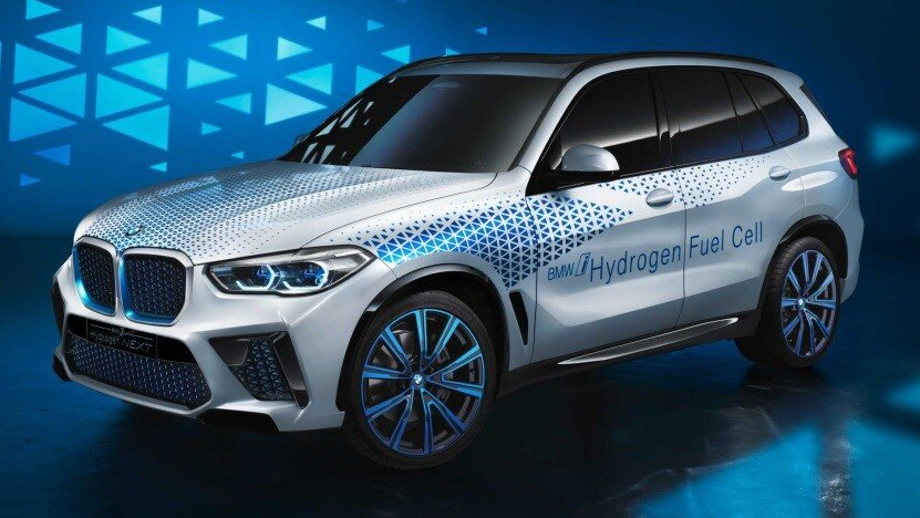 Digital rendering of BMW's i Hydrogen NEXT  Source