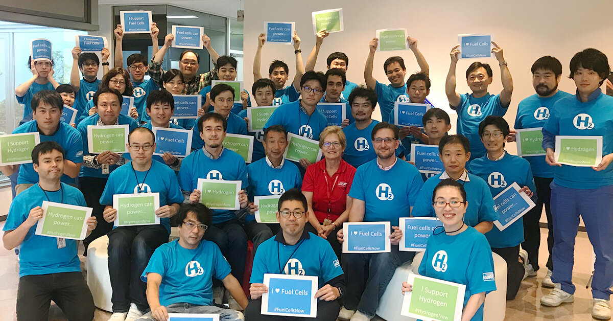 From Asia-Pacific to our East Coast U.S. headquarters, Gore Associates wish you a Happy National Hydrogen and Fuel Cell Day!