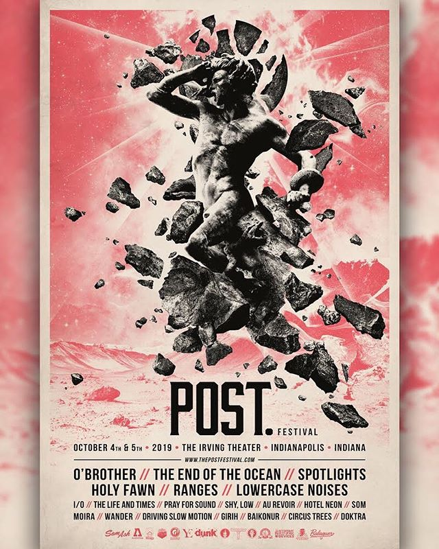 INDIANAPOLIS // OCT 4-5  Very happy to finally be able to announce that I'm playing @the_post_festival this year! It's an incredible lineup and I'm honored to be a part of it. Early bird tickets are available now at thepostfestival.com.