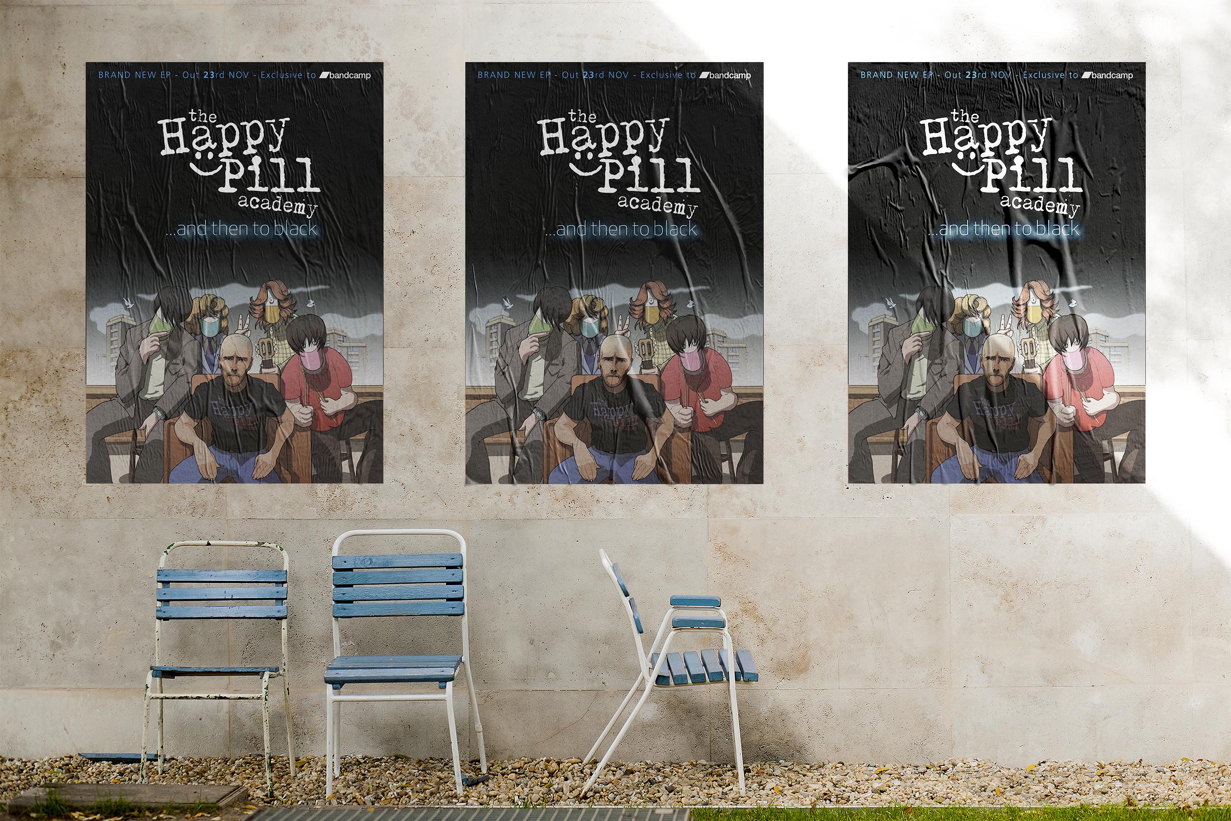 Happy pill CMYK GIG Poster mockup 2.png