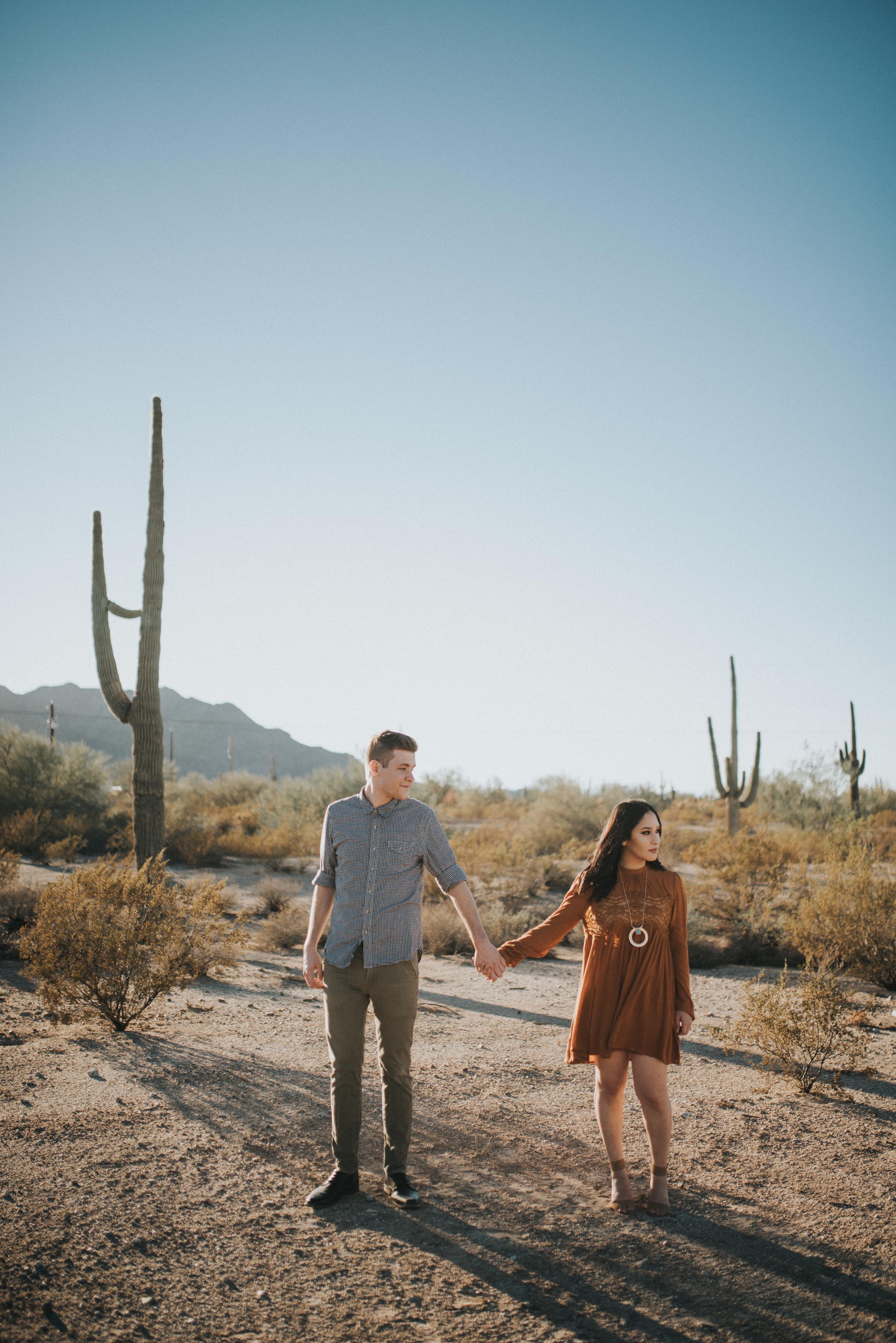 Arizona Desert Engagement
