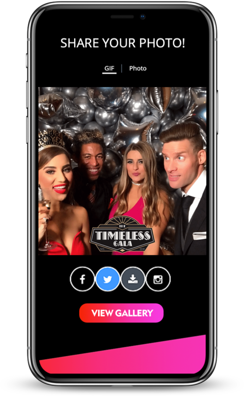 Dallas Photo Booth Live Texting URBN EVENTS