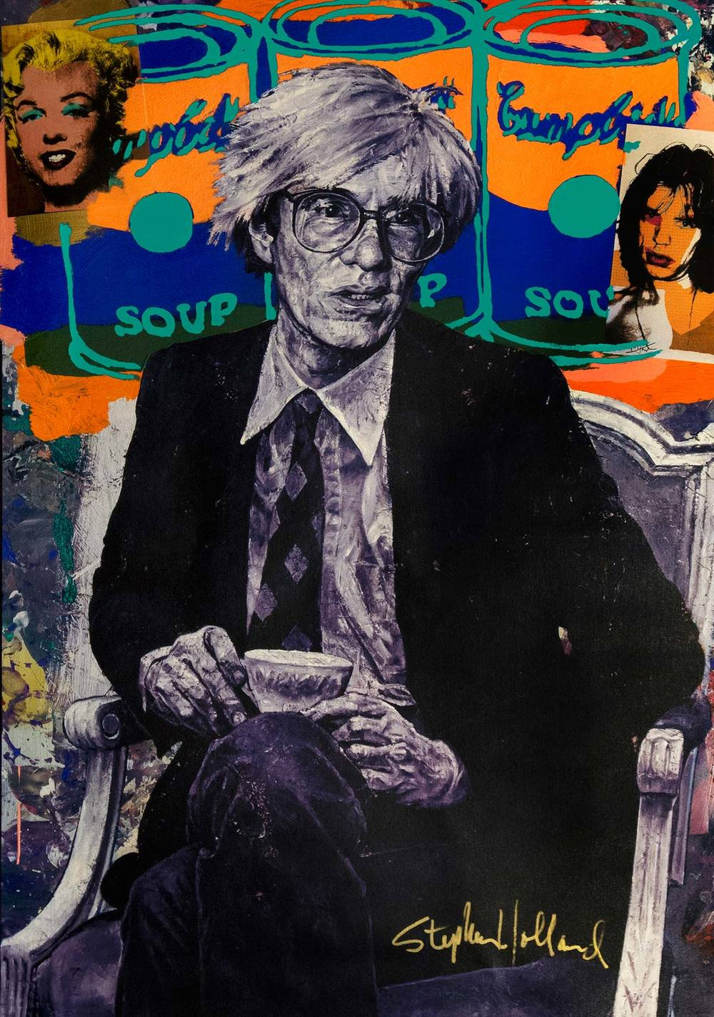 Andy Holland andy warhol — stephen holland studios