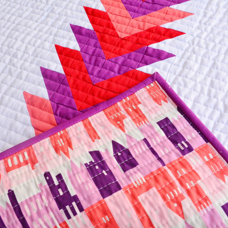 Initial K Studio RJR Summertime Mini Quilt